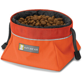 Ruffwear Quencher Cinch Top Ciotola, pumpkin orange